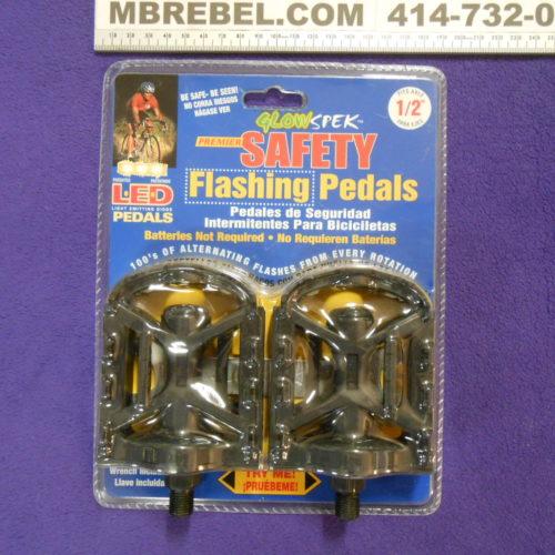 LED Flashing Pedal 12 1 half inch MBRebel.com