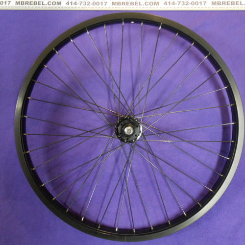Weinmann DH-39 Front DISC Wheel Double Wall Black 26″Inch x 2.35, 3.00 MBRebel.com