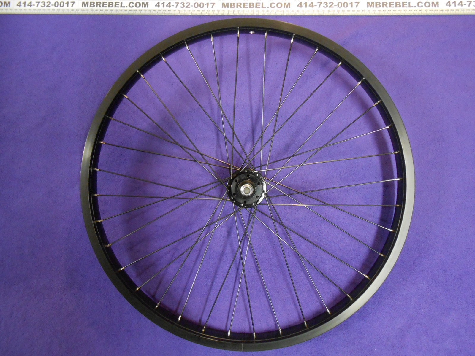 Rim And Tire Package >> Weinmann DH-39 Front DISC Wheel Double Wall Black 26″Inch ...