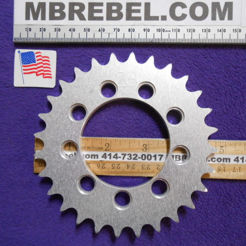 28 Tooth DISC Drive Sprocket MBRebel.com