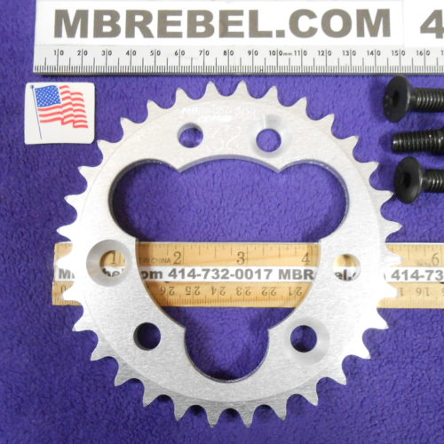 410 Chain Sprockets for Sprocket Adapters 32T Tooth MBRebel.com