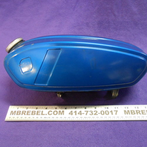 Blue CIMATTI Moped Gas Tank MBRebel.com