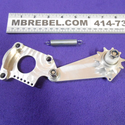 CNC Springer Chain Tensioner with 10 Tooth Idler Engine Side MBRebel.com