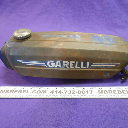 Garelli Moped Gas Tank 1 Gallon Vintage VIP 2SP Deluxe MBRebel.com