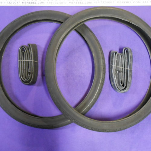 Pair of 26 x 2.35 Black Cruiser Bicycle Tires CST C1779 with heavy duty inner tubes Gasbike.net tires MBRebel.com