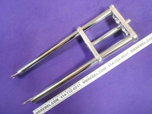"26 x 4.0/"" Triple Tree Fat Bike Fork 1 1//8/"" threadless 6 Bolts Disc Brake Chrome"