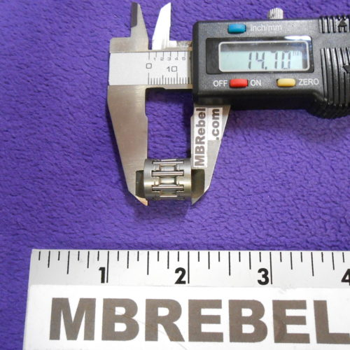 Needle Bearing 48cc 66cc 80cc Motorized Bicycle 14.7mm Long MBRebel.com