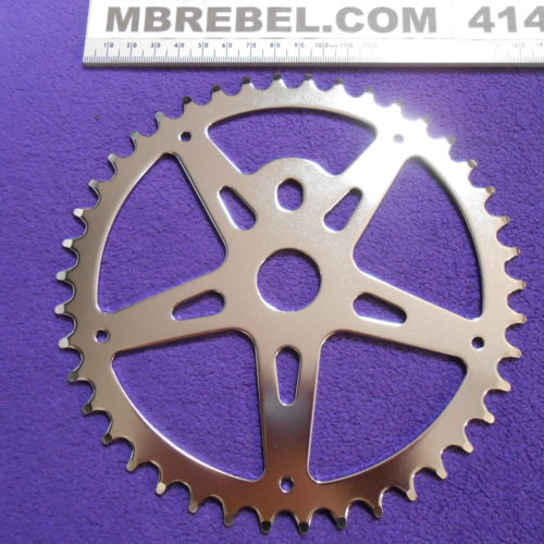 42 Tooth Pedal Sprocket Chainring Vintage Style MBRebel.com