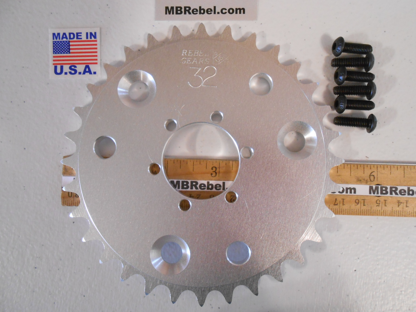 410 Chain Sprockets for DISC Hubs 26T, 28T, 30T, 32T and 42 Tooth