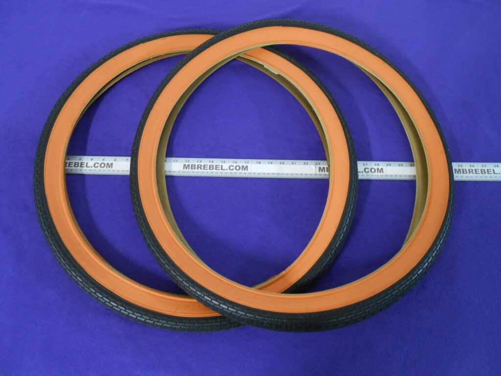 "2 Pair Duro 26/"" x 2.125/"" 57-559 White Wall Tires"